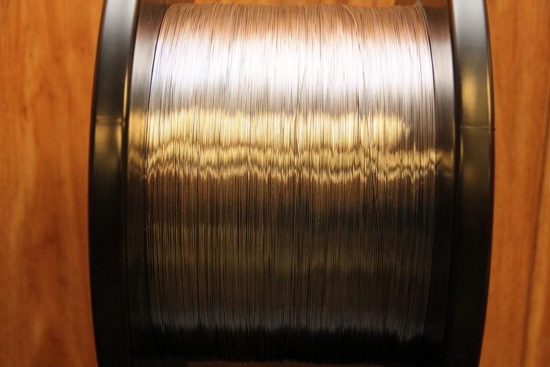 A spool of Luvata superconducting strand produced for ITER.