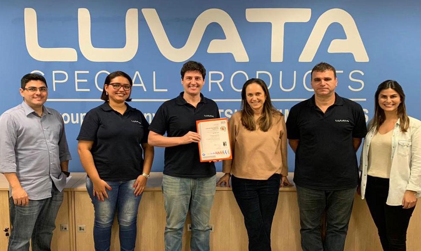 ISO certification Luvata Sao Paulo