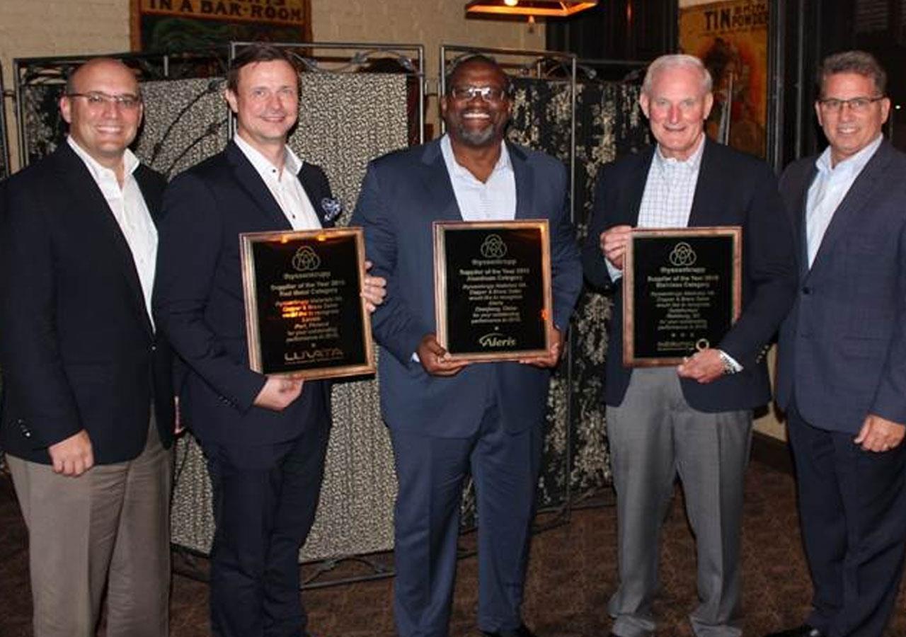 Luvata receives ThyssenKrupp Award