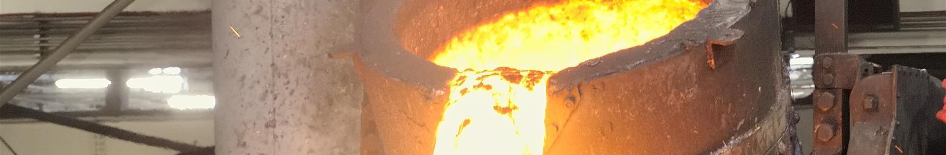 Hot molten metal