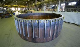 环形试验组件中的冷却元件