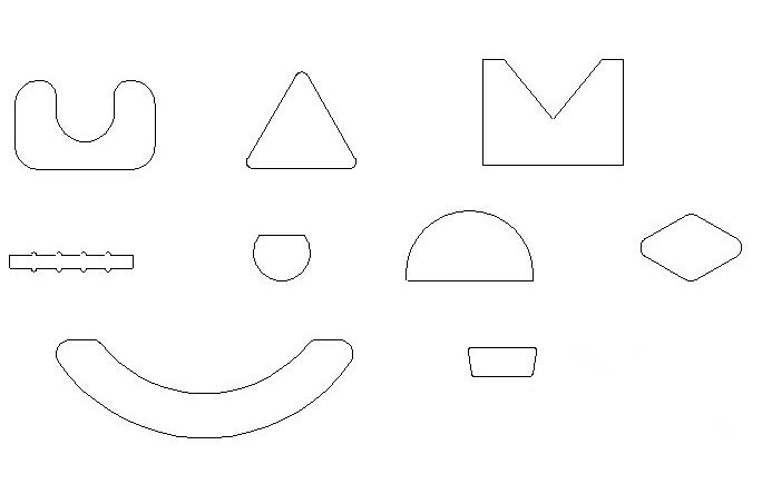 Custom shapes by Luvata